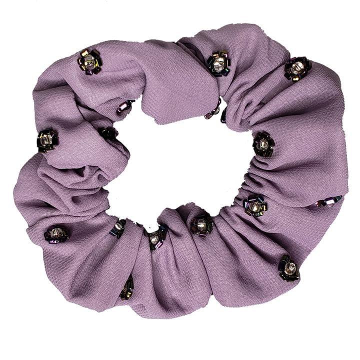 Sweet Pea - Light Fabric Scrunchie (Lavender)