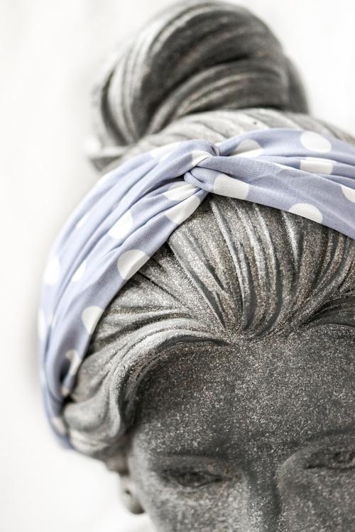 Haarband Poppy - baby blue