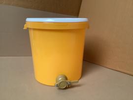 aftapvat 40 kg kunststof oranje