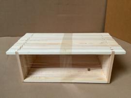 10 B-kwaliteit Honingkamerraam gemonteerd