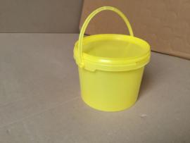 honingemmer  2,5 kg met deksel geel
