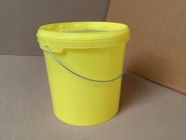 honingemmer 8,5 liter (=12 kilo) geel