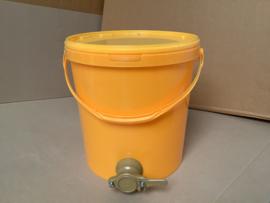 aftapvat 25 kg kunststof oranje
