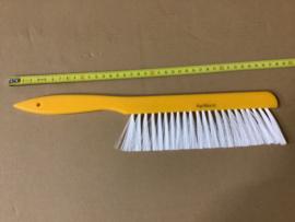 bijenveger kunststof geel met wit klein 36 cm