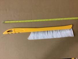 bijenveger kunststof geel met wit groot 45 cm