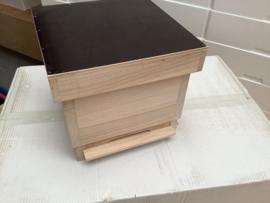 miniplus hout compleet  (1 BK met raampjes)