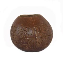 Lantaarn kokosnoot bruin