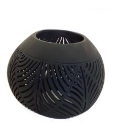 Lantaarn Kokosnoot zwart