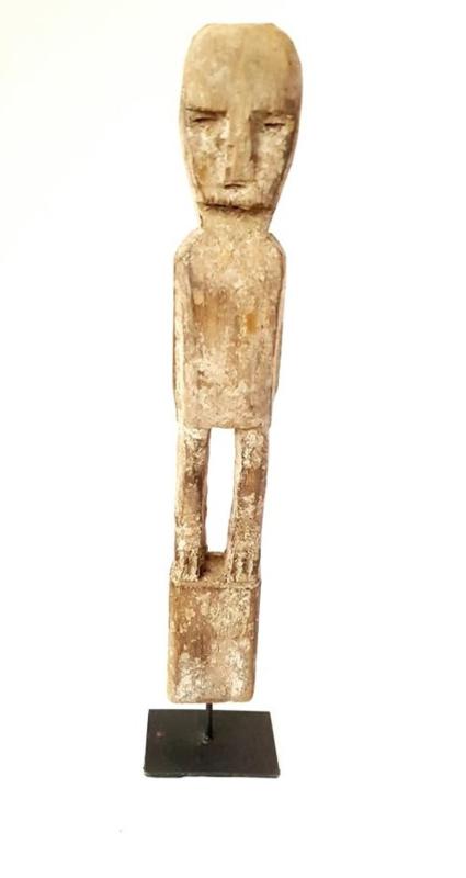 Little man houten beeld