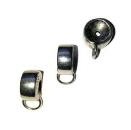 Tussenzetsel / Kraal met oog voor kraal van 12mm