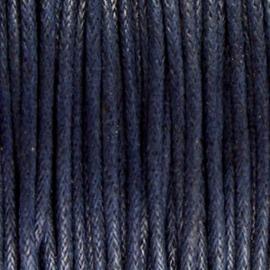 Waxdraad Donker Marine Blauw - 1.5mm x 2 meter