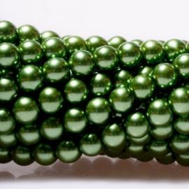 Glasparels Dennegroen - 6mm