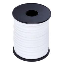 Modi elastiek, Ibiza elastisch koord - wit - 5mm breed