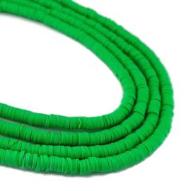 Katsuki Kralen 4mm Heldergroen - ca 70 stuks of streng