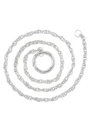 Metalen halsketting met EasyClip - 80cm