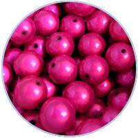 Miracle 3d kralen fuchsia roze - 4mm - 50 stuks