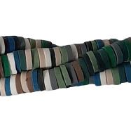 Katsuki kralen 4mm - Groene Kleurenmix - 70 stuks of streng