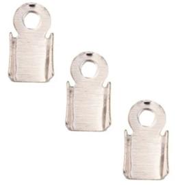 Veterklem - Zilverkleur - 6x3mm - 40 stuks