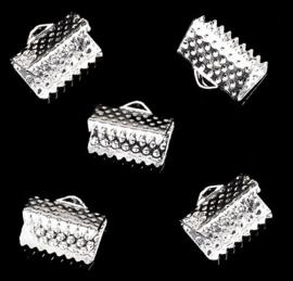 Lintklem / Veterklem - Silverplated Metaal - keus uit diverse formaten