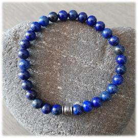 Lapis Lazuli Natuursteen Armband