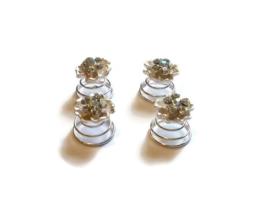 Curlie Haarclips met Strass Kristallen - 4 stuks