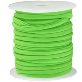 Modi elastiek, Ibiza elastisch koord - Felgroen -  5mm breed