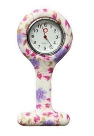 Verpleegsters Horloge In flexibele Silicone behuizing - div. motieven