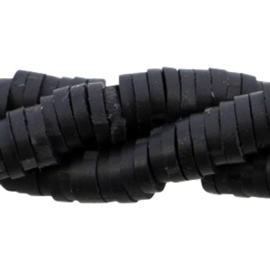 Katsuki Kralen 4mm – Zwart -  ca 70 stuks