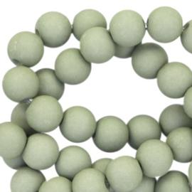 Acryl Kralen 6mm - Olive Green - 30 stuks