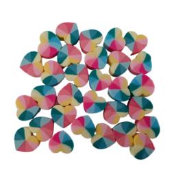 Polymeer Kralen Hartjes - 10mm - multicolor I - 5 stuks