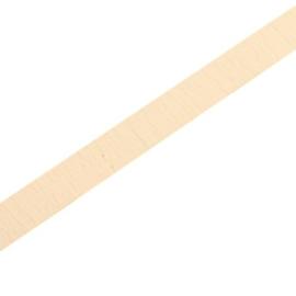 Leer Plat 5mm Light Camel Brown  - 20cm