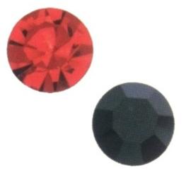 Glas kristal similisteen -  rond facet geslepen - ±4.7mm - ss20 - swarovski - div kleuren