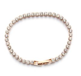 Armband met Oostenrijkse Crystal Steentjes - Goudkleur