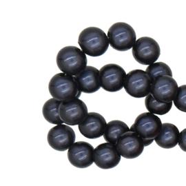 Miracle 3d kralen Donkerpaars - 12mm - 10 stuks
