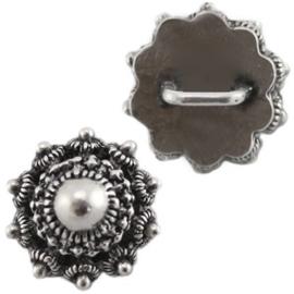 Schuiver Zeeuwse Knop - Antiek Zilverkleur