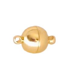 Magnetische Sluiting DQ  -  Roestvrij Staal -  Designer Quality - Goudkleur
