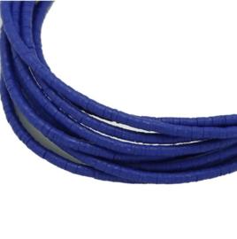 Katsuki Kralen 4mm – Kobalt blauw - ca 70 stuks
