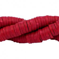 Katsuki Kralen 4mm – Velvet Red- ca 70 stuks