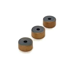 Hematiet kralen 4x2mm – Mat Brons - 24 stuks