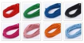 Gekleurd elastisch draad - 1 meter - kies uit div. kleuren