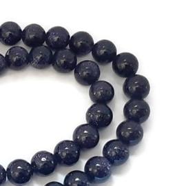 Goudsteen Kralen Donkerblauw -  4mm, 6mm, 8mm, 10mm, 12mm