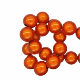 Miracle 3d kralen Oranje - 12mm - 10 stuks