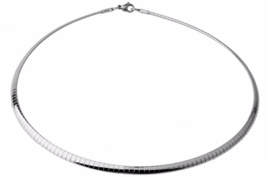 Spang /  Choker  Stainless Steel / RVS