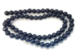 Goudsteen Kralen Donkerblauw 4mm - 10 stuks