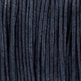 Waxdraad Donker Marineblauw - 1mm x 2 meter