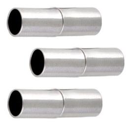 Magneetslot  Staafje Zilverkleur  20x5mm Gat 4mm