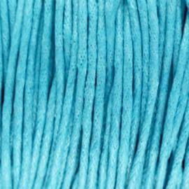 Waxdraad Donker Aquamarine Blauw - 1.5mm x 2 meter