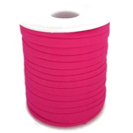Modi elastiek, Ibiza elastisch koord - fuchsia roze  -  5mm breed  -  per 50cm