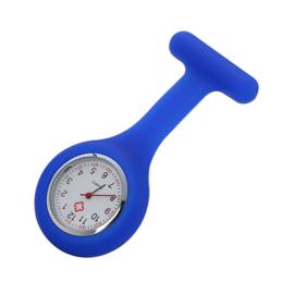 Verpleegsters Horloge In flexibele Silicone behuizing - div. kleuren