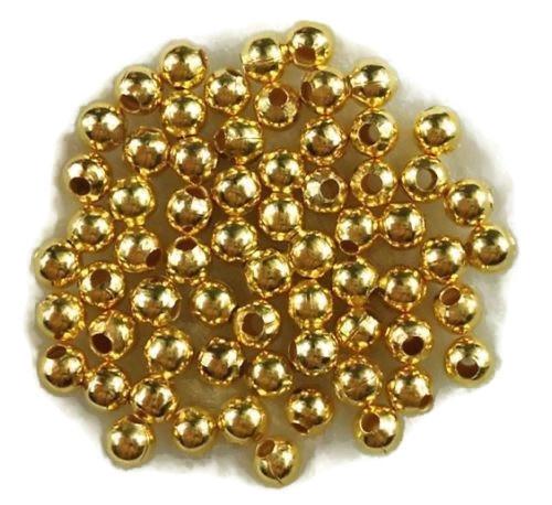 Metalen Kralen Goudkleur - 4mm - 20 stuks